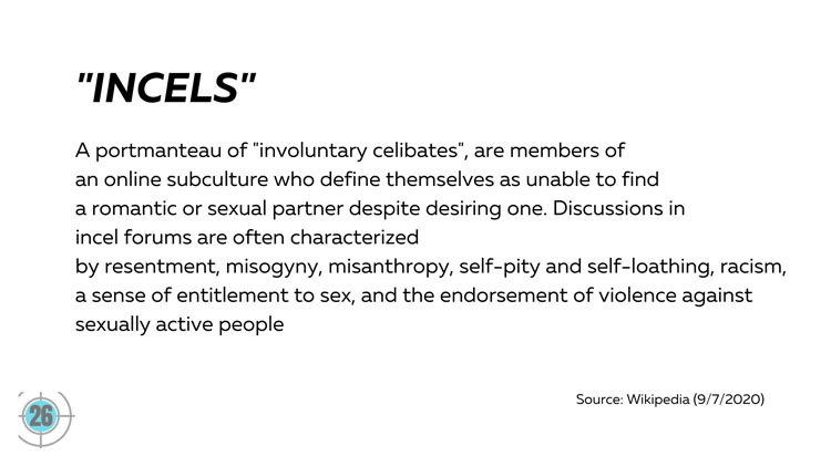 definition of incels